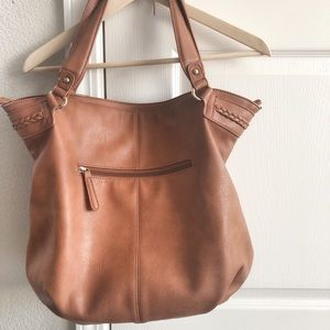 Sole Society Tara Braided Faux Leather Hobo